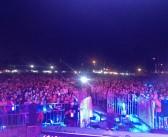 Miles de vecinos disfrutaron dos días de música con un espectáculo del mejor nivel