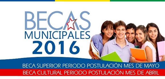 Becas 2016