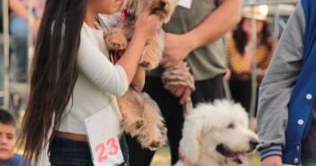 Padrehurtadinos acuden en familia a la Feria Canina