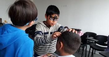 Talleres entretenidos para niños en el centro cultural