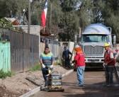 Obras viales en diferentes lugares de  nuestra comuna