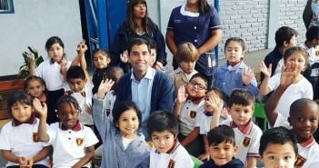 Inicio del año escolar en Liceo Bicentenario Paul Harris