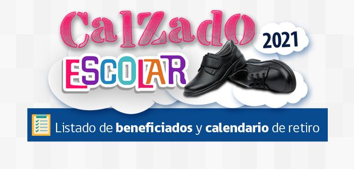 Beneficiarios Calzado Escolar 2021