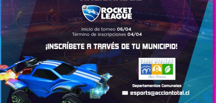 Representa a nuestra comuna en el Primer Campeonato de Rocket League