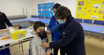 #MPHSectorRural La Esperanza: CESFAM Juan Pablo II realiza campaña de vacunación escolar 2021